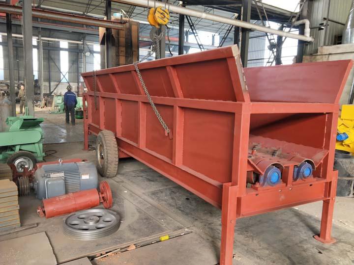 horizontal wood debarker factory