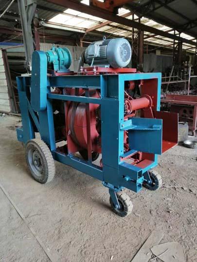 industrial wood debarker
