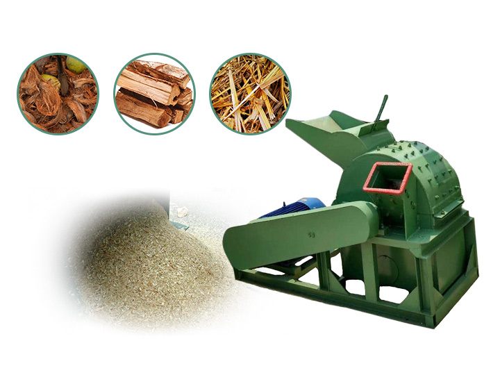multifunctional wood crusher for sale