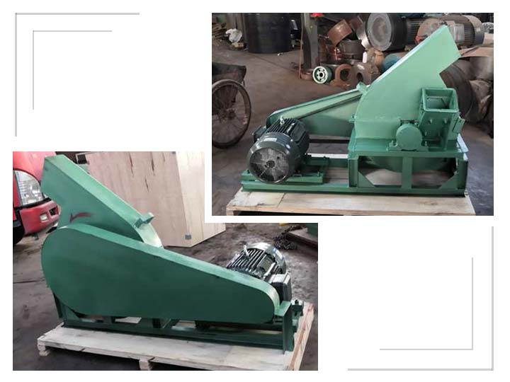 packaging and shipping of wood chippers