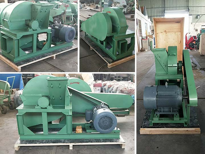 packaging and shipping of wood shaving machines