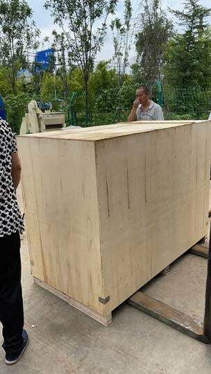 shippment of Shuliy wood chipper machine