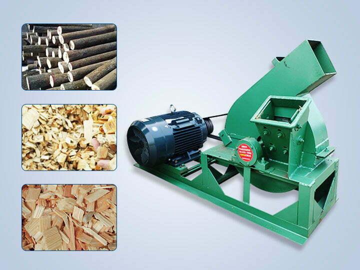 small wood chipper machine
