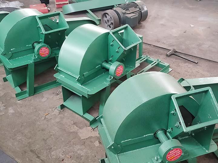 small wood crusher machine