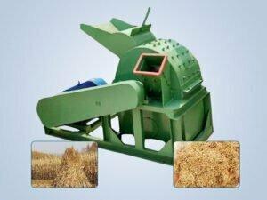 straw crusher machine