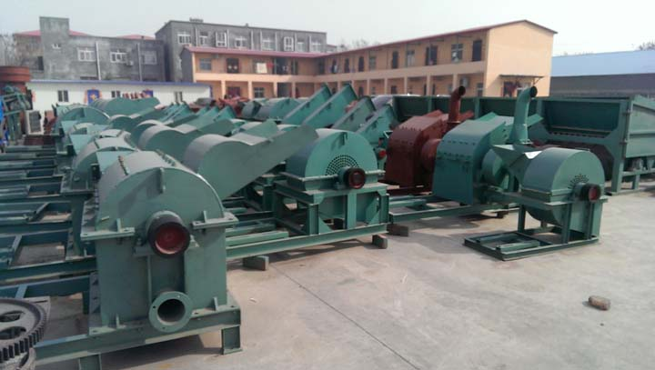 various wood processing machines are in stock