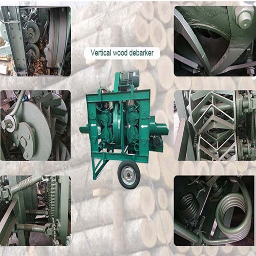 vertical wood debarker machine details