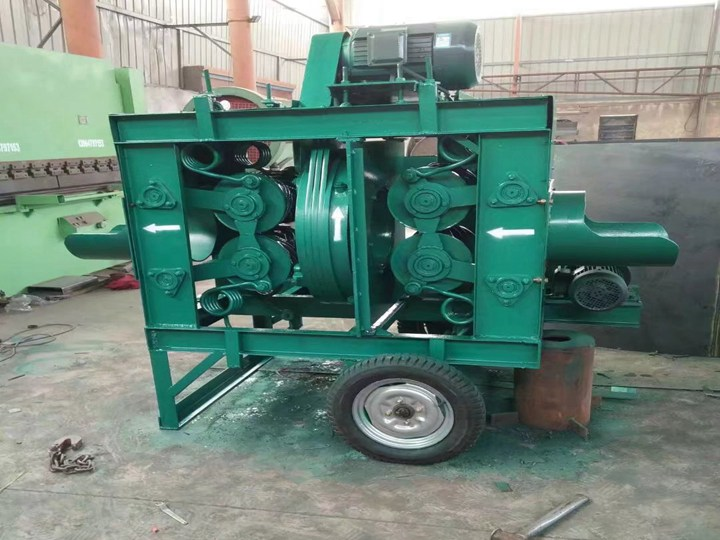 vertical wood debarker machine