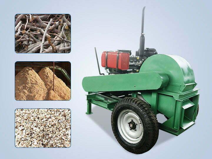 wood crusher machine manufacturer