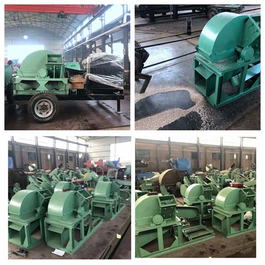 wood crushers with different specifications