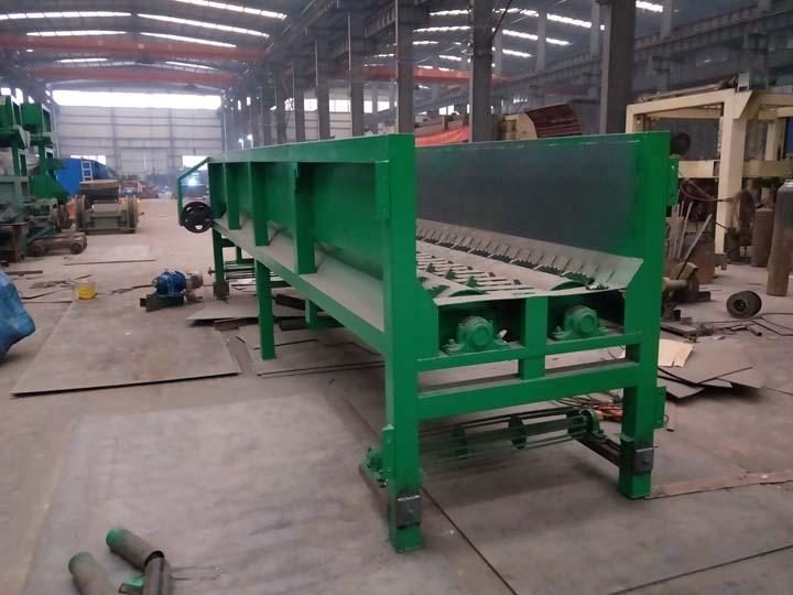 wood debarker in Shuliy factory