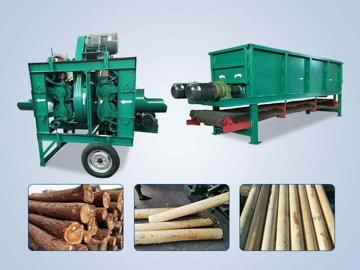 wood debarker machine for sale
