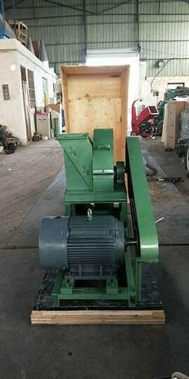 wood shredder machine for shipping to Egypt (1)