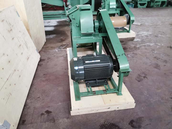 packaging of small wood crusher machine