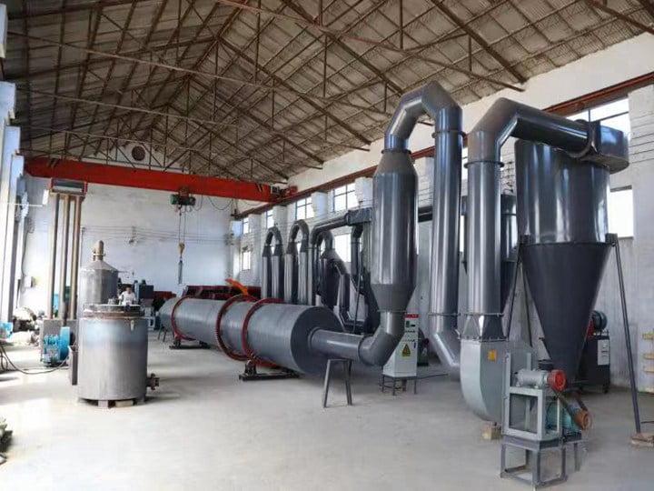 Rotary dryer machine factory