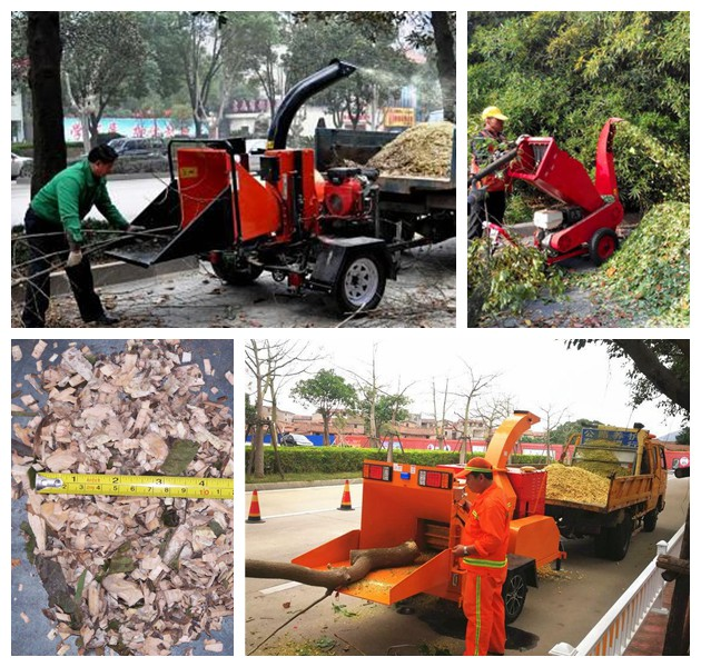 applications of the branch crusher machine