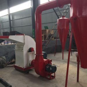 hammer straw crusher with the dust collector