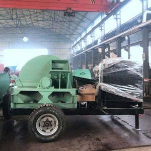 large wood crushing machine for shipping to Malaysia
