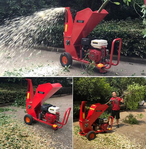 small branches shredder applications