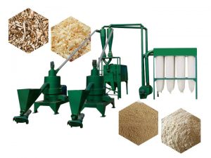 vertical wood powder machine for sale