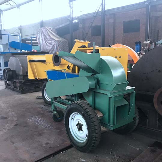wood crushers in Shuliy factory