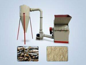 wood lumber crusher machine