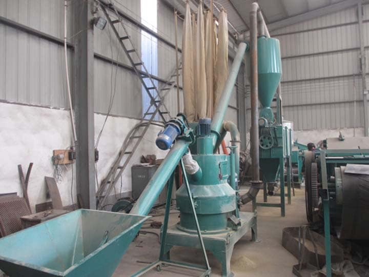 wood powder milling machine in Singapore