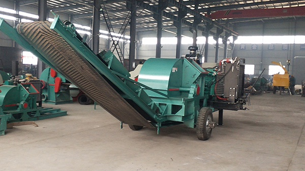 large type sawdust processing line