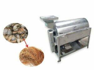 coconut fiber extraction machine manufacturer