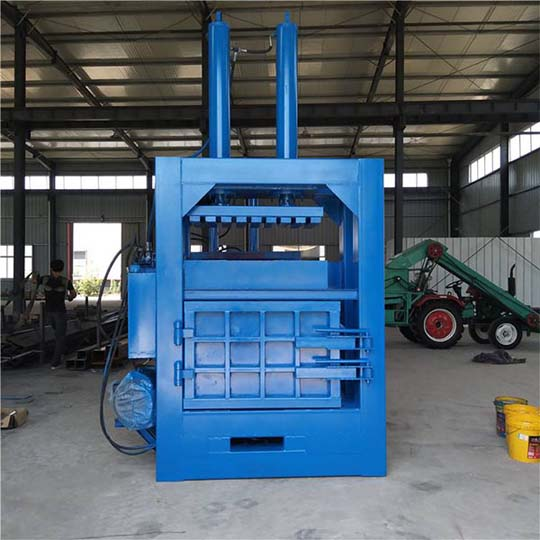 hydraulic baler machine for coconut fiber packing