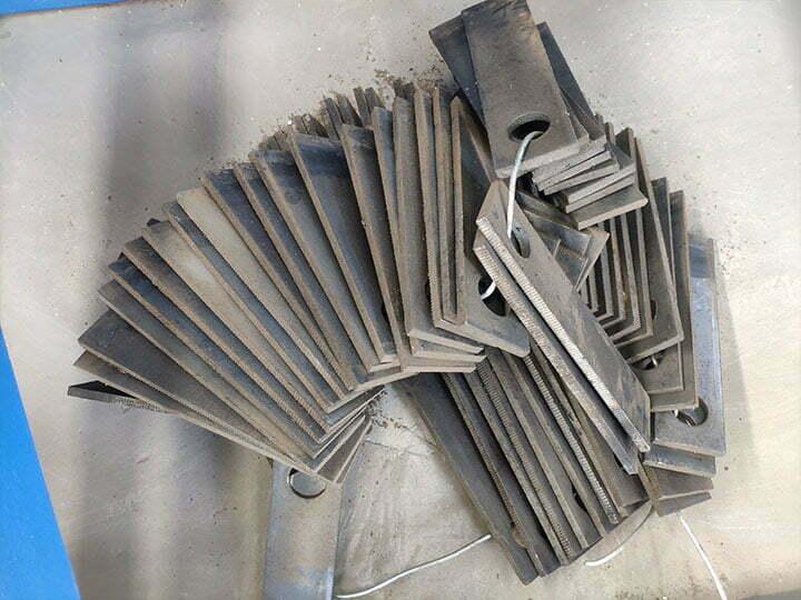 cutting blades of hammer crusher