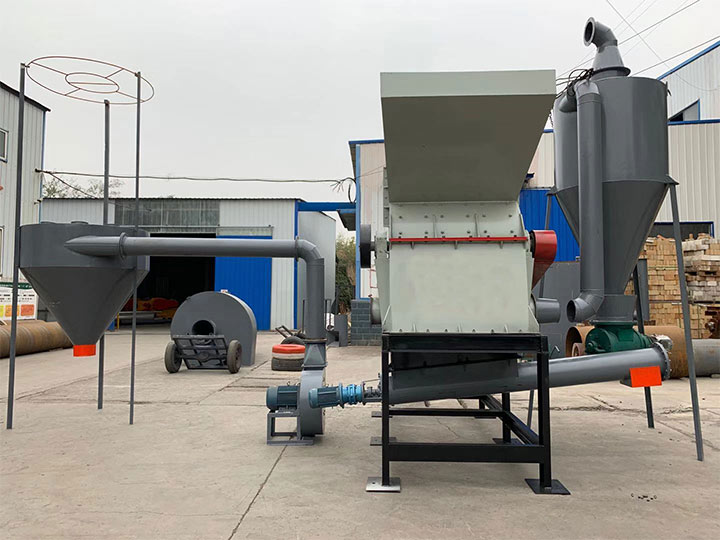 hammer crusher with dust collector