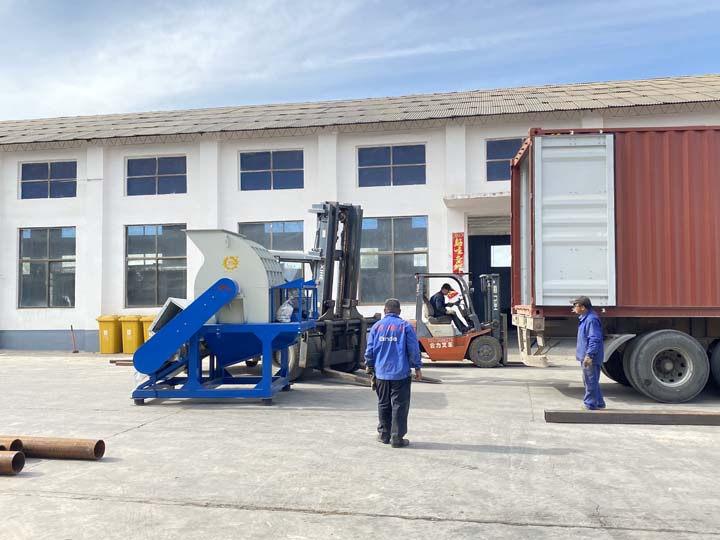 hammer mill crusher for shipping to South Africa