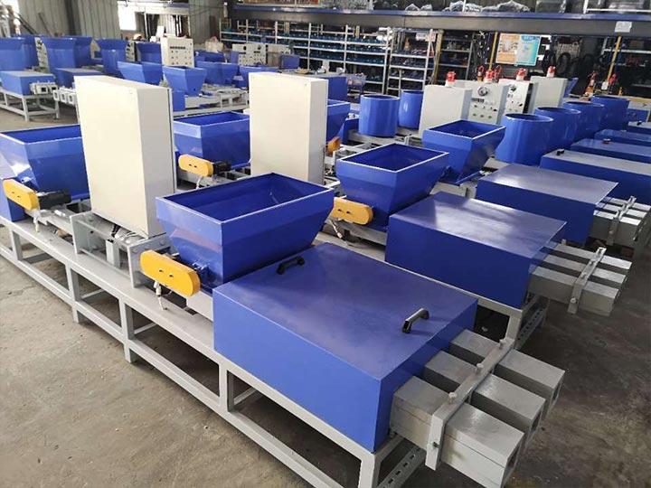 commercial pallet block making machine