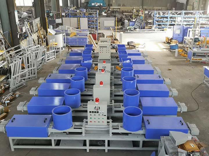 pallet block extruder machines