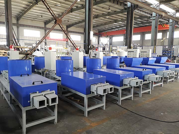 wood pallet block machine manufacturer