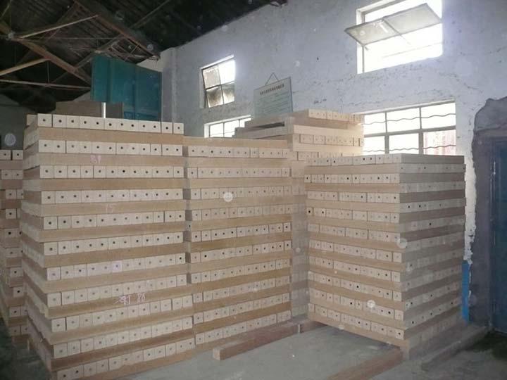 wood pallet blocks processing plant