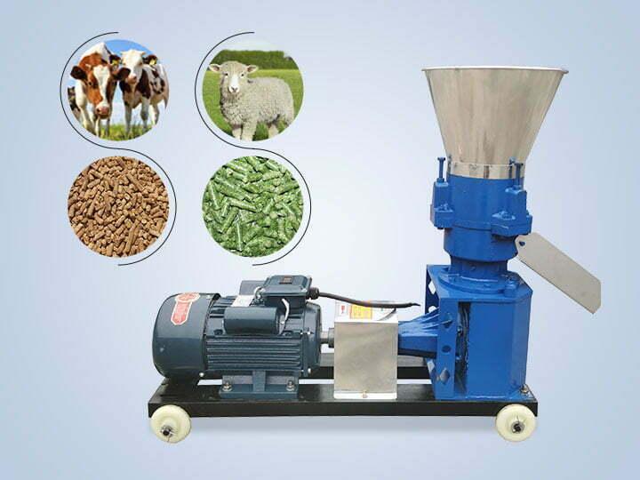 animal feed pellet mill machine