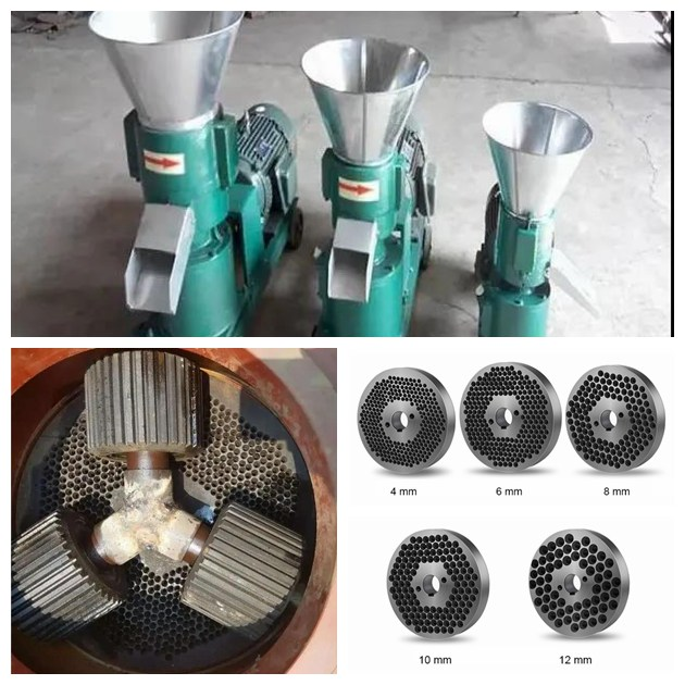 cattle feed pellet machine molds and rollers