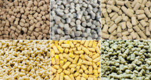 various feed pellets for live stocks