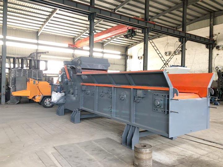 industrial wood pallet shredder