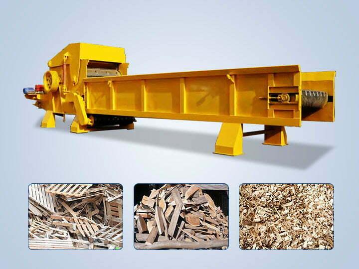 industrial wood shredder for sale