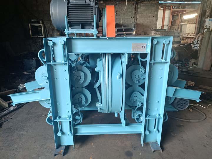 log debarker machine for shipping to America