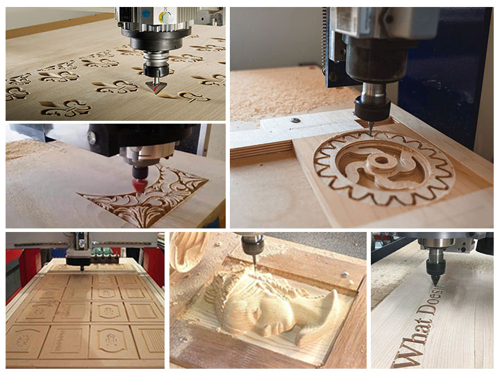appplications of CNC router machine