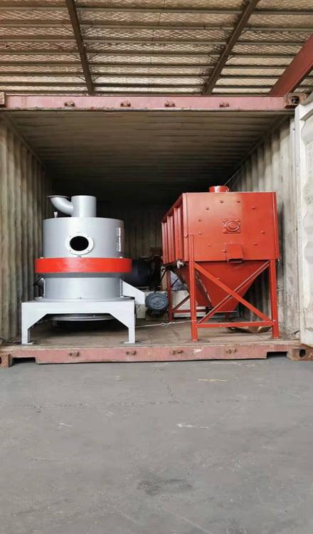 bamboo powder machine shipment in Shuliy factory