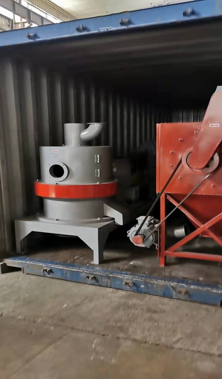 bamboo powder making machine shipment for Thailand