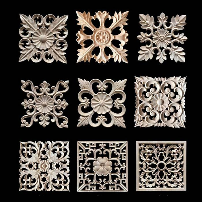 carving effect of the CNC router