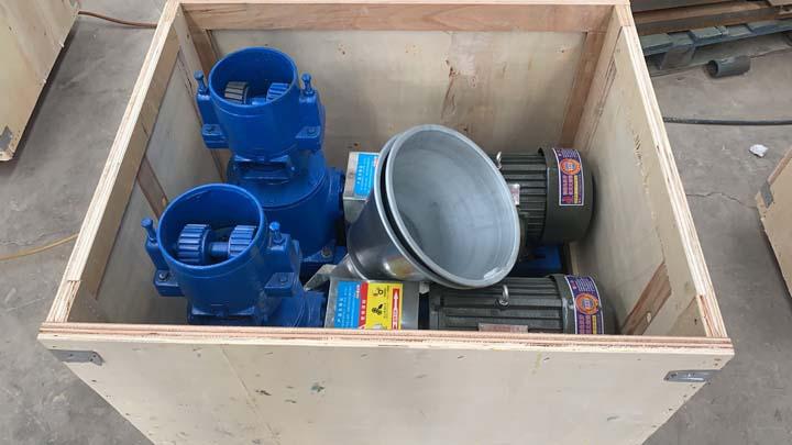 wood pellet machine wooden packaging