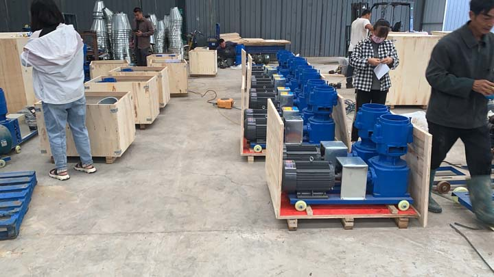wood sawdust pellets making machine supplier