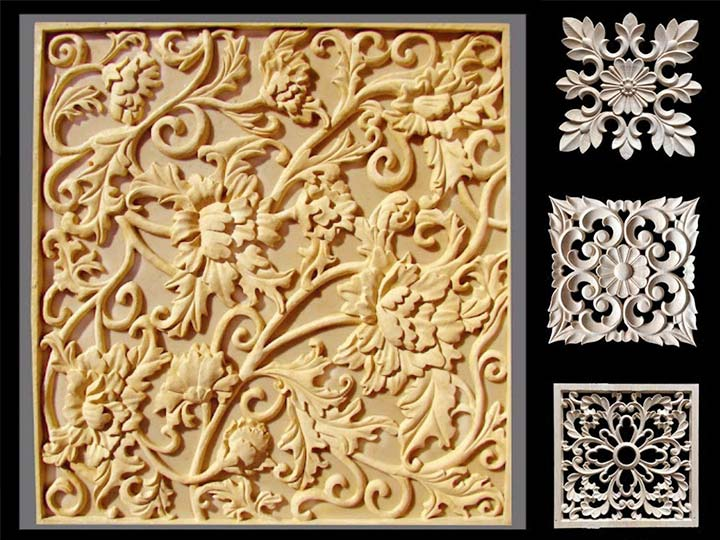 working effect of the CNC router machine